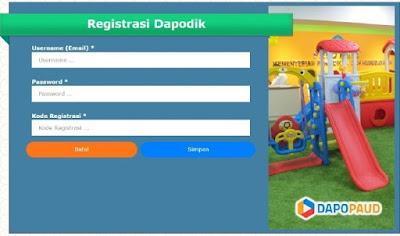 Download Aplikasi Dapodik Paud versi 3.3.0 tahun 2018-2019