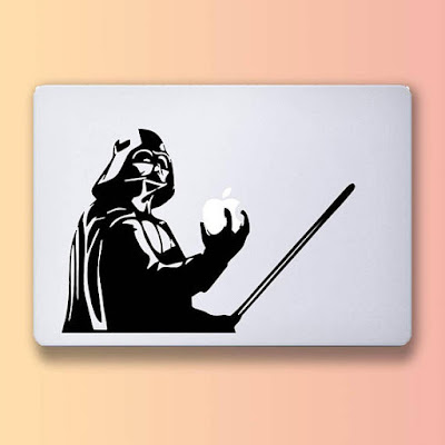 Vader decal on Etsy