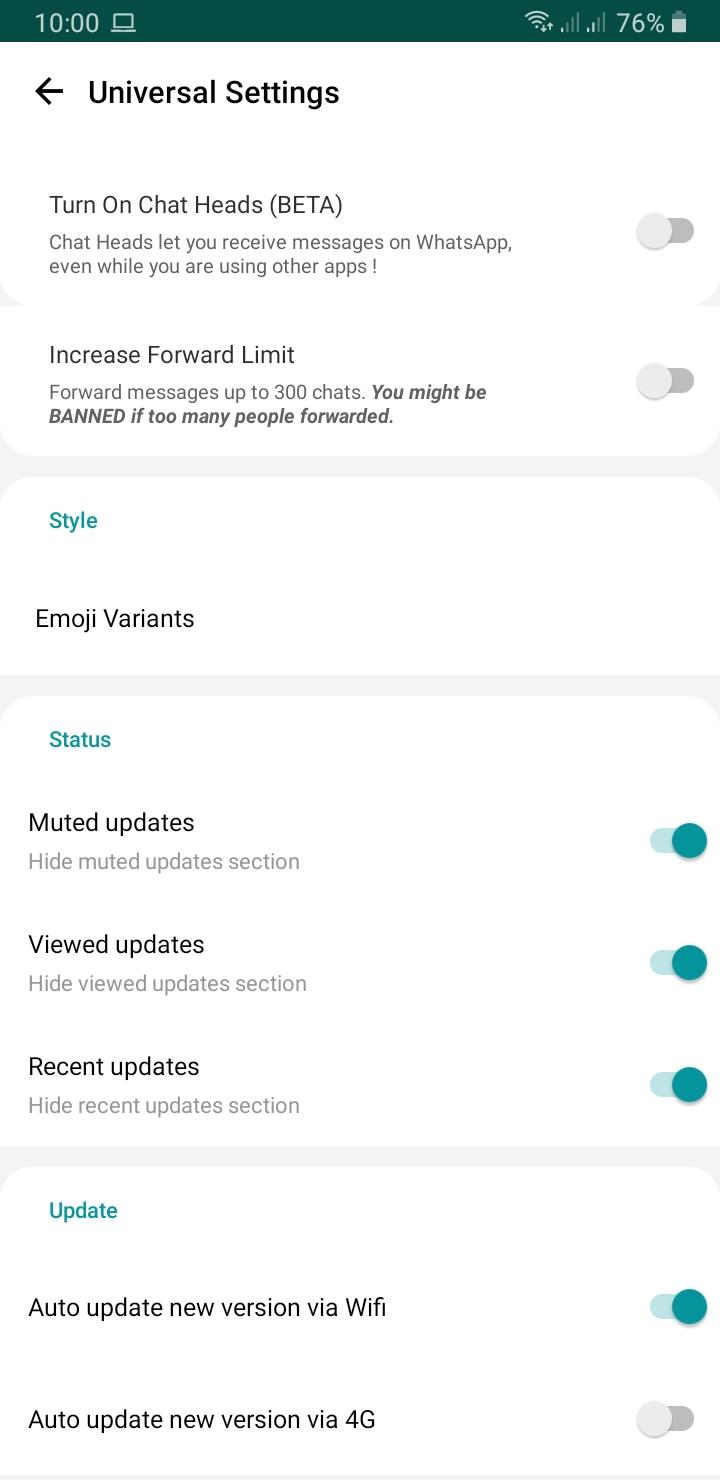 Saya Menggunakan Yowhatsapp Gb Whatsapp Buat Lebih Produktif