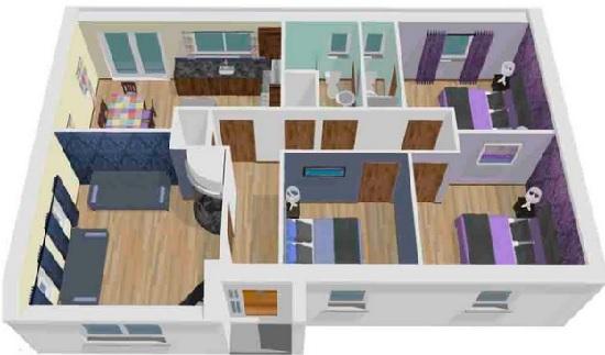 Desain Rumah Minimalis Modern 3 Kamar Tidur Paling Bagus