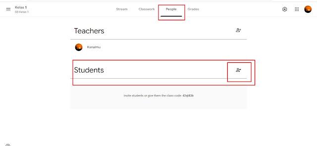Cara Guru  Invite Murid Ke Google Classrom