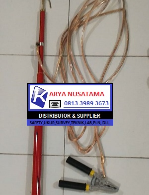Spek Discharge Stick 70kv Stick Road di Kalimantan