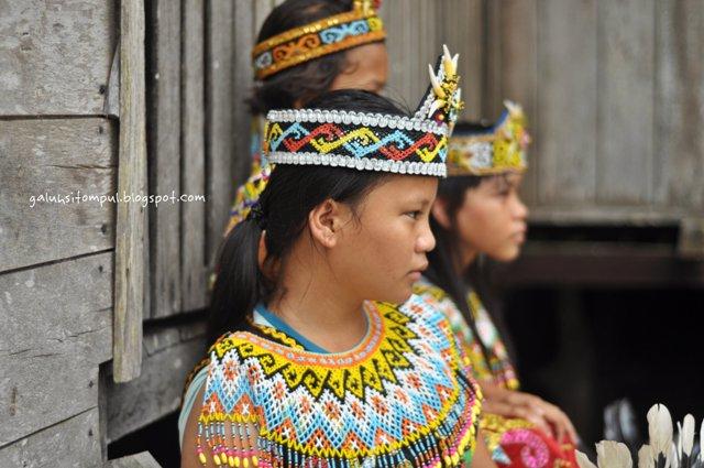 Kampung Budaya Suku Dayak