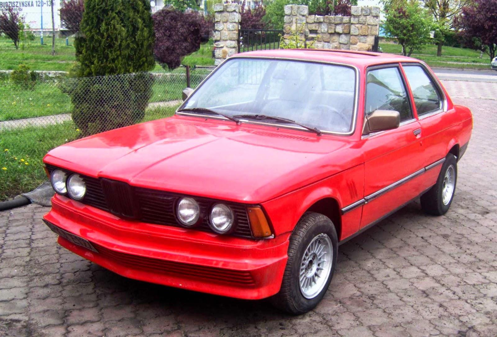 Bardzo dobra Warsztat Krzysztof Kłowaty: BMW E21 316 Rekin FU65