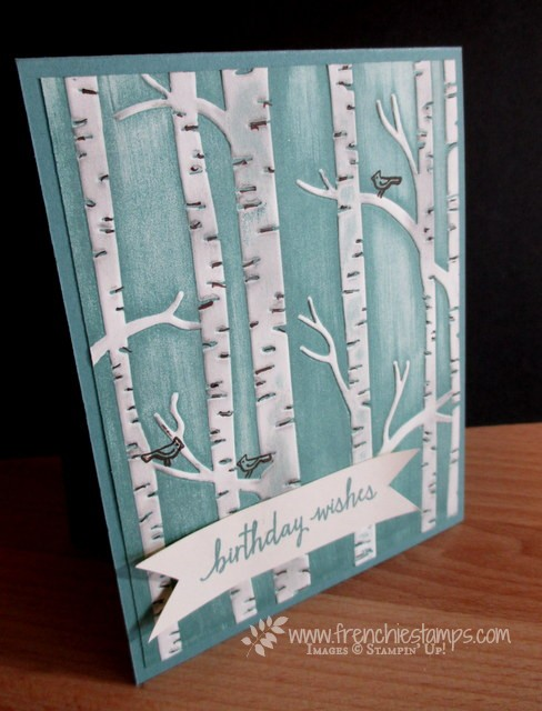 Woodland Embossing Folder Direct Ink Perfect For Everyday