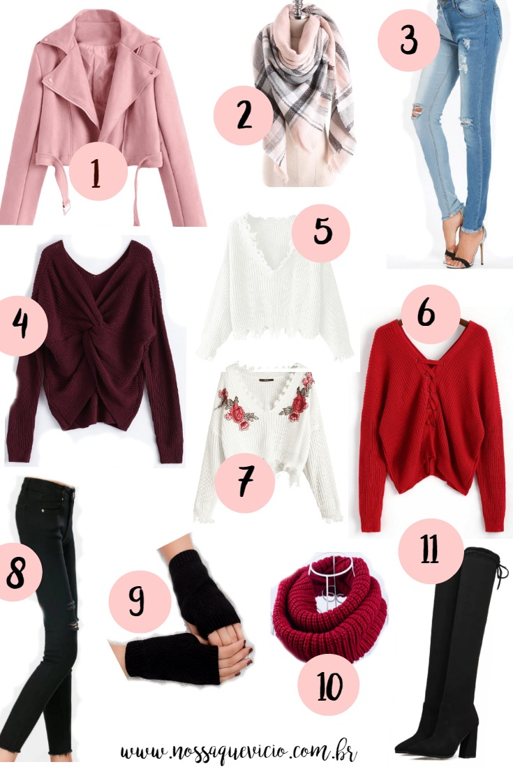 WISHLIST DE INVERNO NA ZAFUL