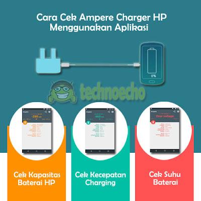 cara cek ampere charger hp menggunakan aplikasi