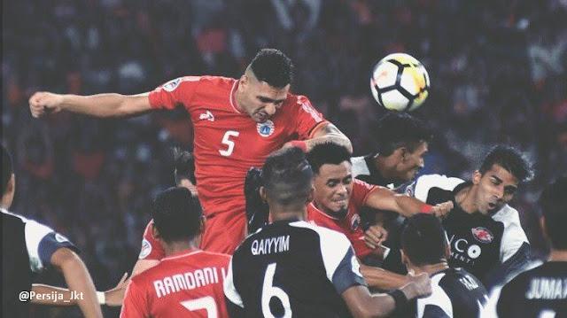 Hasil Persija vs Home United 1-3 Semifinal Leg 2 Piala AFC 2018