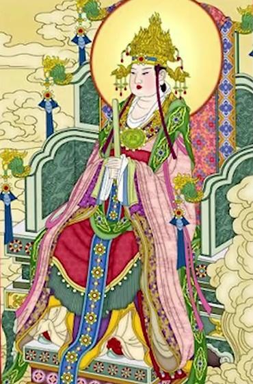 Chinese Gods and Goddesses Wangmu Niangniang