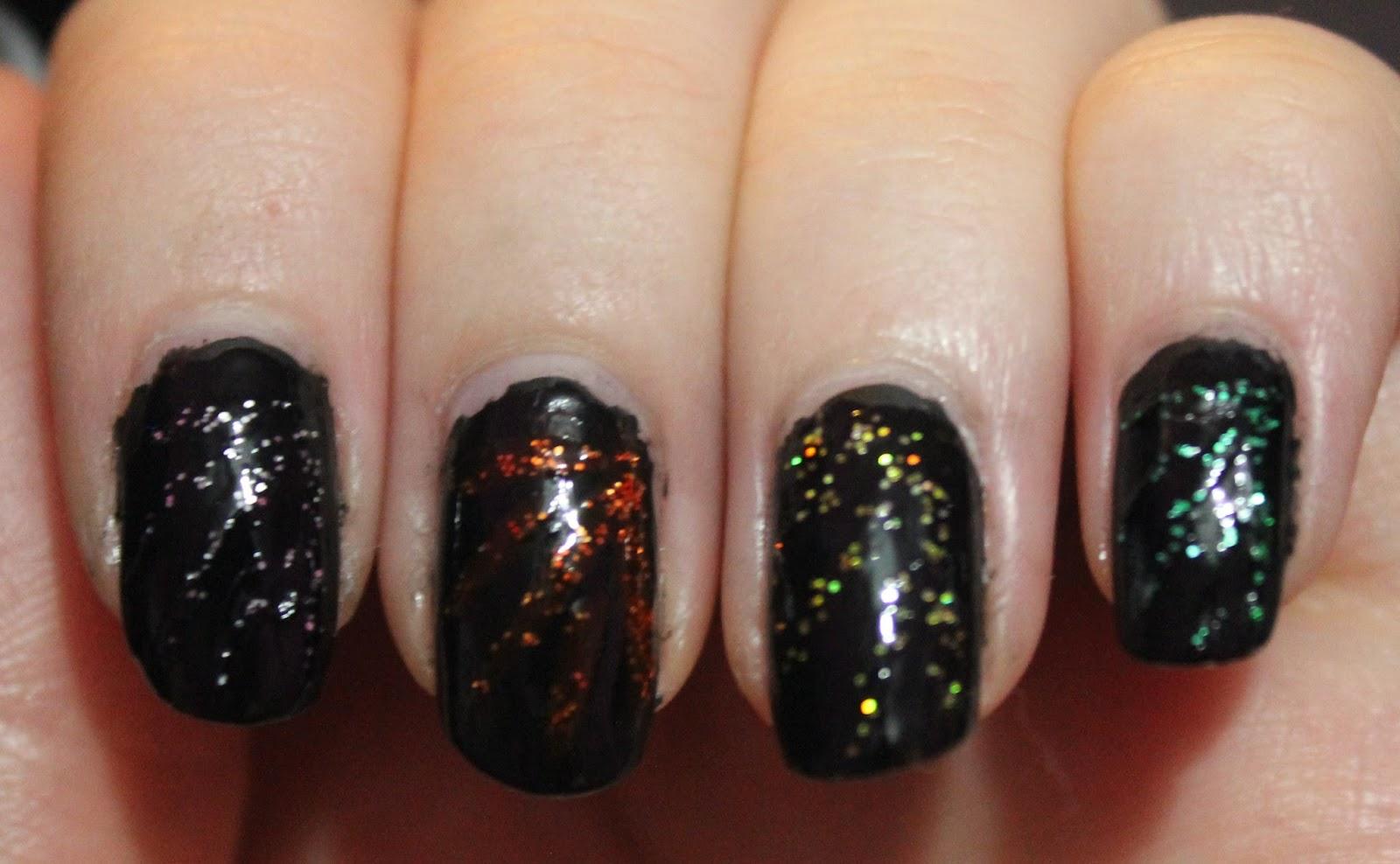 Nails: Fireworks