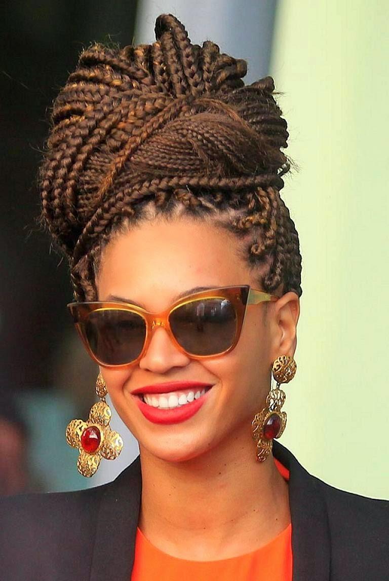 Peinados Con Trenzas Para Mujeres Afro Cortes De Cabello