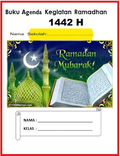 Buku Agenda Kegiatan Ramadhan 1442 H