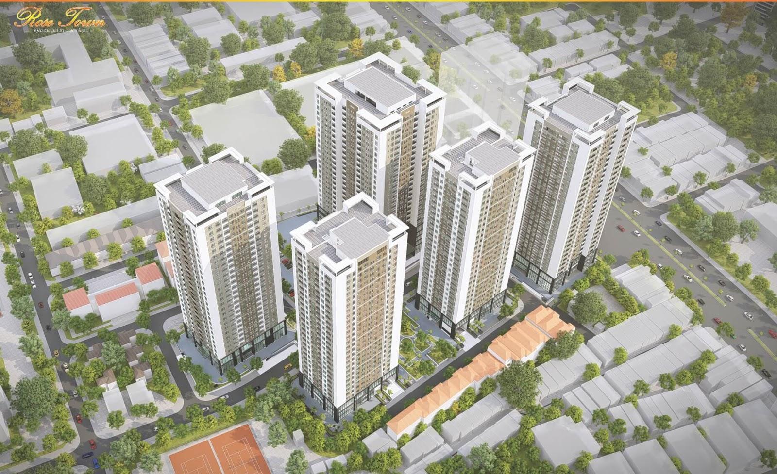 Rose Town Ngọc Hồi khu căn hộ đáng sống tại Hà Nội