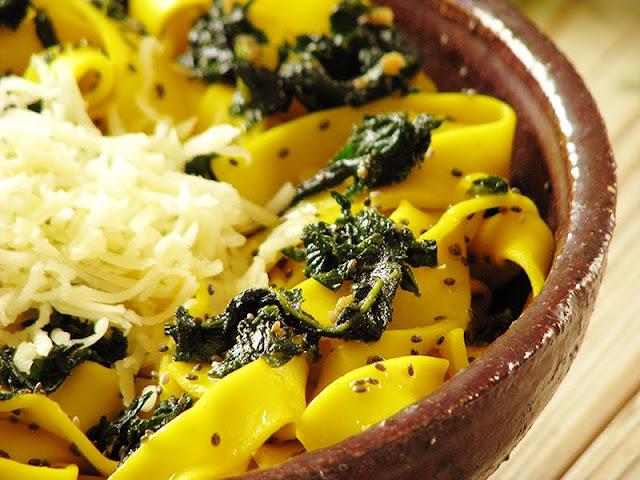 recette de salade de pâte végétarienne
