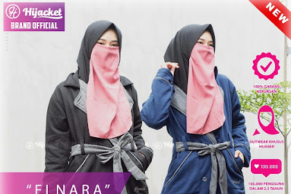 HIJACKET ELNARA NAVY BLACK BROWN MAROON ARMY UNGU M fit L HJ-ELN HIJACKET® ELNARA