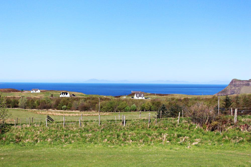 Traditional Scottish Farm houses on Isle of Skye