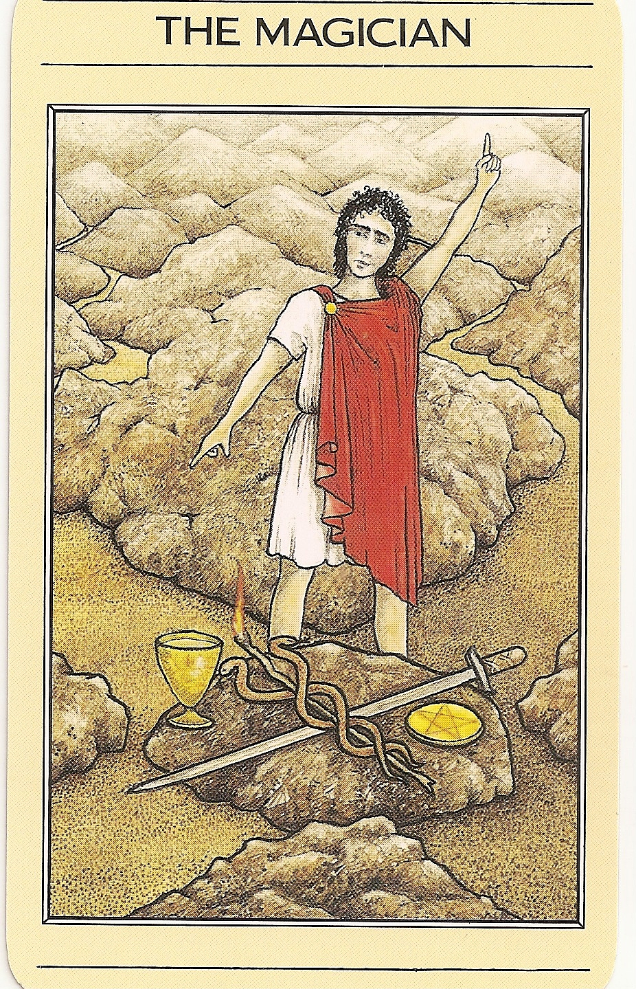 The Magician Tarot: Tarot And More: 4) Tarot Symbolism: The Caduceus:
