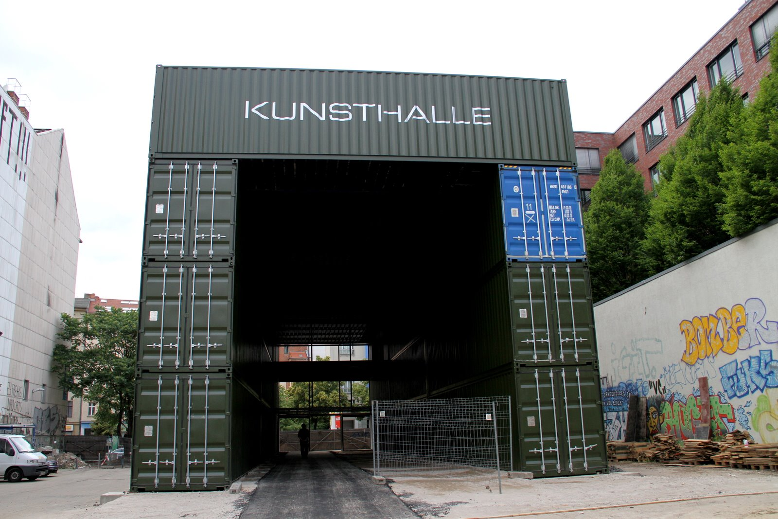 Container Haus New York Shipping Container Homes Platoon Kunsthalle Berlin