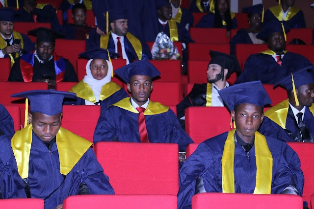 Foreign Students Convocation in NIMS University