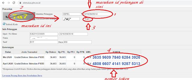 cara mendapatkan kompensasi token dari pln