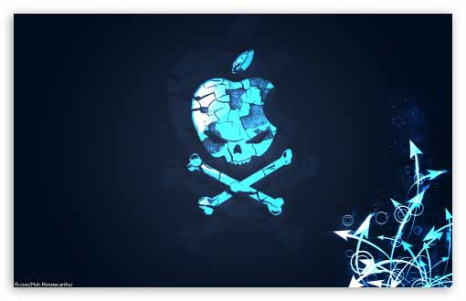 Hq Wallpapers Apple Skull Wallpapers