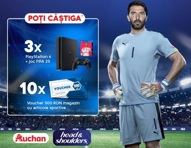 Concurs Head&Shoulders - Castiga 3 Playstations 4 cu Fifa numarul 4 - castiga.net