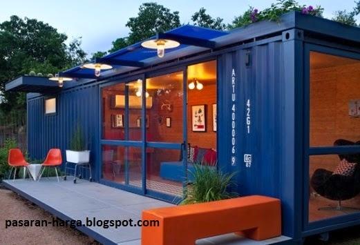 Harga Rumah Kontainer Dengan Desain Model Bangunan Terbaru  pasarhargacom