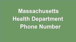 Massachusetts Health Department Phone Number