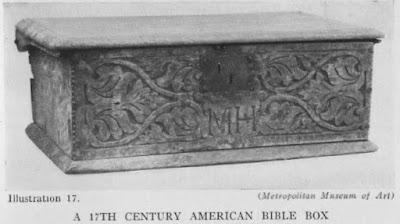 17th Century Table Box (Desk)