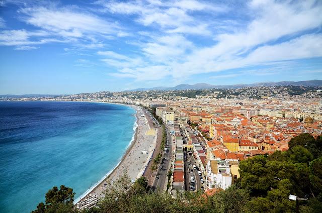 영국인 산책로(프롬나드 데 장글레 Promenade des Anglais)