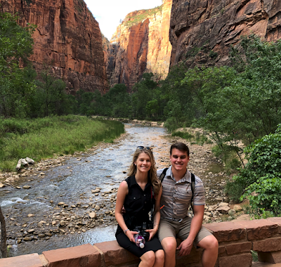 Josie Bates and Kelton Balka Utah proposal trip