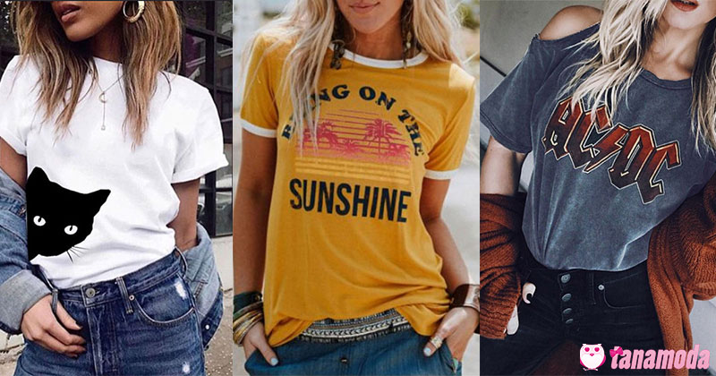6 Estilos de T-Shirt para Investir e Arrasar!