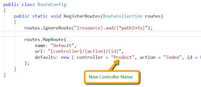 Controller in ASP.NET MVC 5