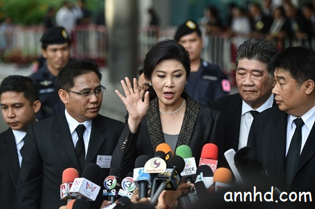Thai court sentences ex-PM Yingluck Shinawatra to 5 years in jail