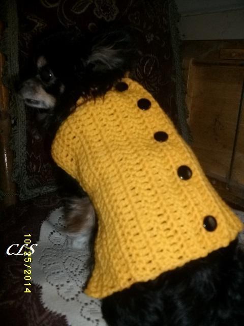 Copper Llama Studio Crochet Dog Sweater Patterns