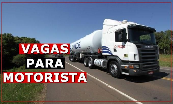 Transportadora Conlog abre vagas para Carreteiro