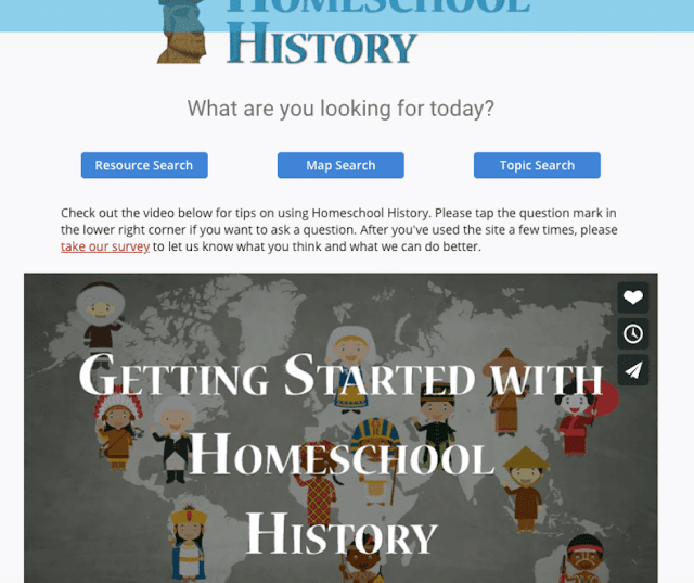 Homeschool history database review