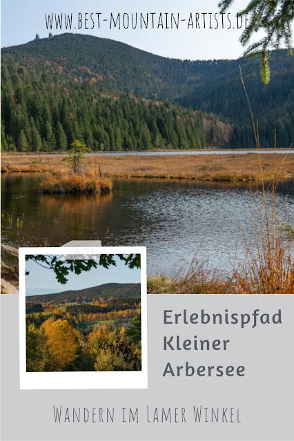 Erlebnispfad Kleiner Arbersee Lo03 | Wandern im Lamer Winkel | Bayerischer Wald | Großer Arber 32