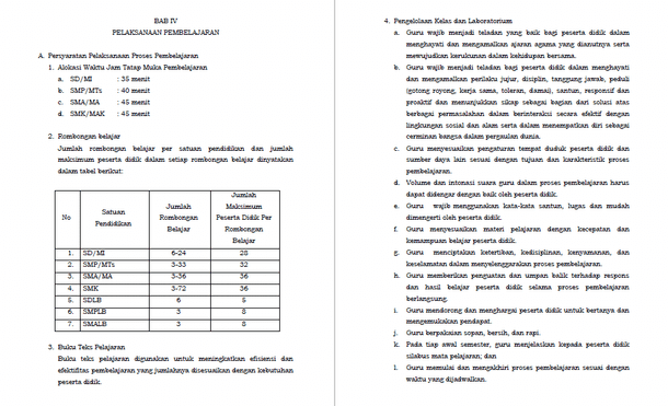 Juknis Penyusunan RPP dan Silabus Kurikulum 2013 Terbaru
