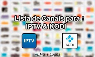 IPTV – NOVA LISTA ATUALIZADA COM CANAIS ATUALIZADOS 2017