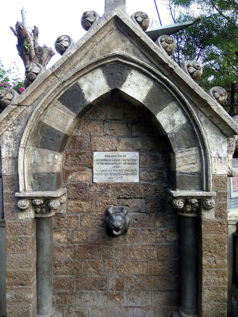 drinking water fountain, bandra, vintage, since 1894, heritage, history, mumbai, incredible india,
