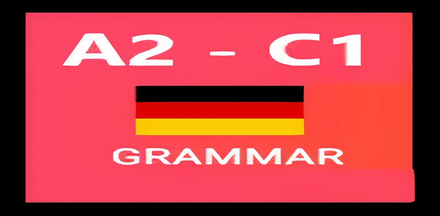 Free German Books: Deutsch Grammatik A2 - C1