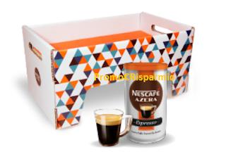 Logo Gratis solo per il Black Fryday una Nescafé Azera WakeUpBox: solo per più veloci!