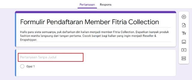 Cara Membuat Google Form 2