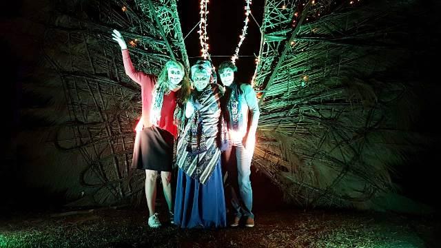 Eu com as queridas Andréia Pit e Lilian Azevedo. 📷  Rodrigo Ramister