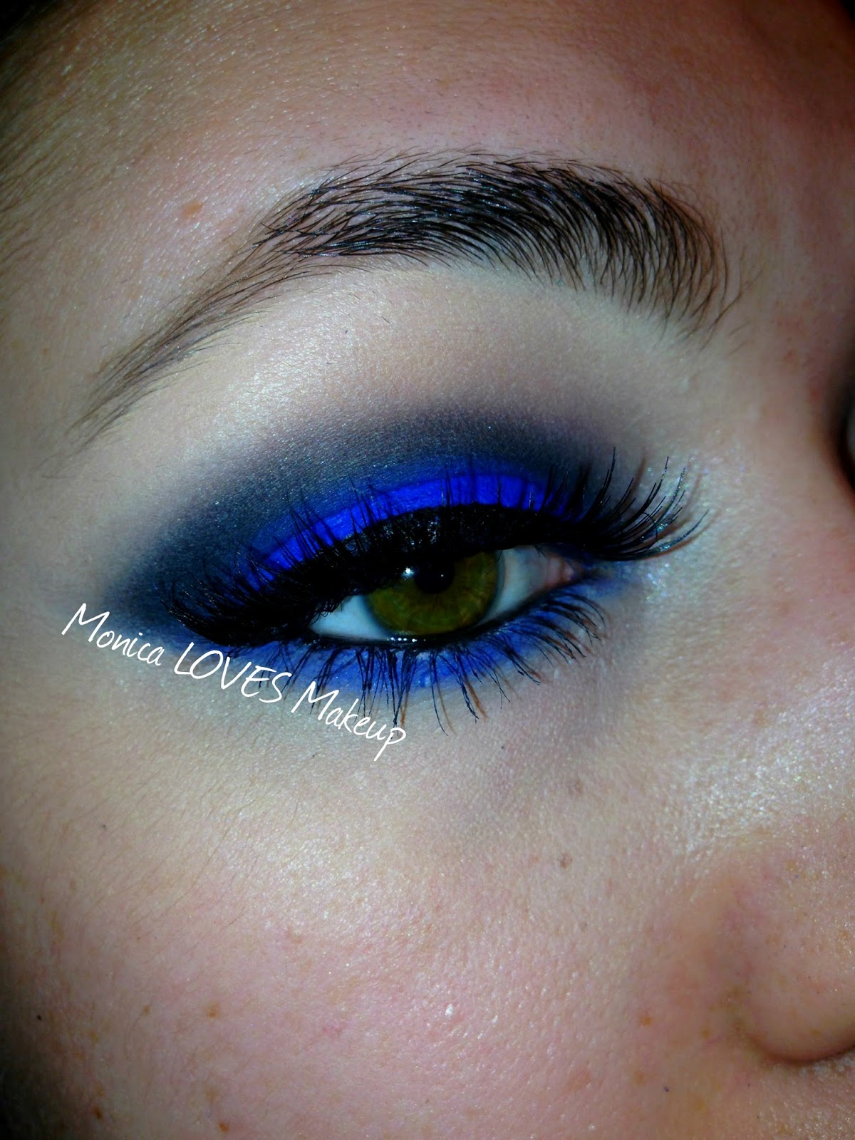 "Mac Eyes On Mac Summer 2016 Makeup Collection: Monica LOVES Makeup: Royal Blue Eyes With MAC's ""Atlantic"