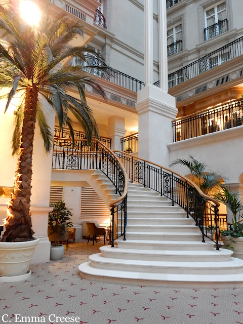 Landmark Hotel Restaurant Review The Winter Garden Adventures of a London Kiwi