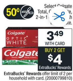 Free Colgate Max Toothpaste at CVS 2/7-2/13
