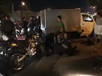 Rombongan Polisi Diseruduk Mobil Box, 1 Tewas 6 Luka