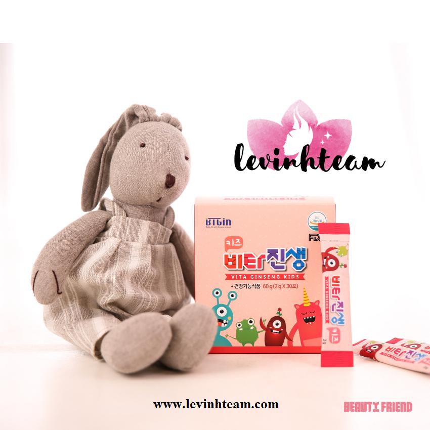 Vita Kids Gingseng Hông Sâm Trẻ Em Phát Triển Trí Não Cho Bé